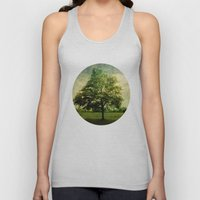 The Textured Tree  Unisex Tank Top