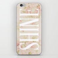 Shine Floral  iPhone & iPod Skin