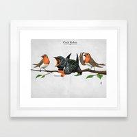 Cock Robin Framed Art Print