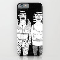 iPhone & iPod Case featuring CHEAP GIRLS by WASTED RITA