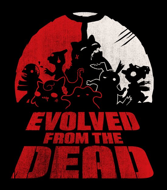Evolved from the Dead Art Print