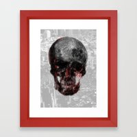 The Death of the Moon Framed Art Print
