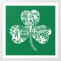 Dynasty-Green Art Print