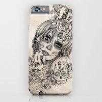 Sugar Skull Queen iPhone 6 Slim Case
