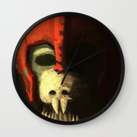 Skeleton soldier Wall Clock
