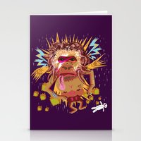 Gorillain Sane Stationery Cards