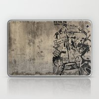 Berlin Street Art concrete Laptop & iPad Skin