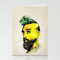 GREEN BEARD Stationery Cards