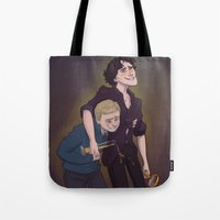 Sherlock | Don't Drink and Deduce Tote Bag