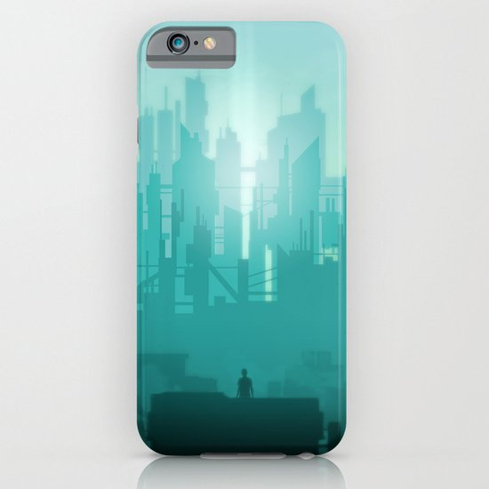 The first light of Metropolis iPhone & iPod Case