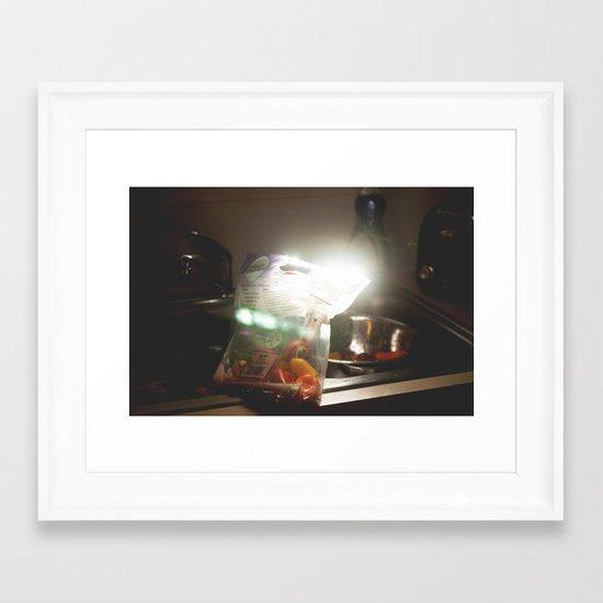 magical peppers Framed Art Print