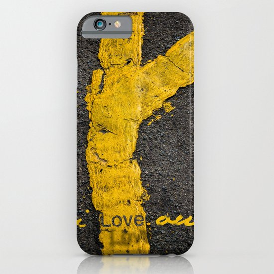 I love you. iPhone & iPod Case