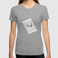 Urban Consumers Womens Fitted Tee Tri-Grey SMALL