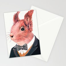 Red Squirrel Stationery Cards