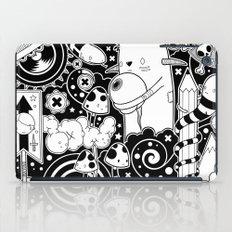 Clutch (Black & White version) iPad Case