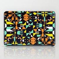Square 3 color option 1  iPad Case