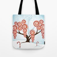 Magic Candy Tree - V3 Tote Bag
