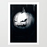Keeping Up With Hallowee… Art Print