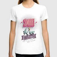 Smart is the new Sexy! Womens Fitted Tee White SMALL