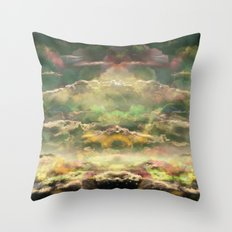 Head in the Clouds by Debbie Porter - Designs of an Eclectique Heart Throw Pillow