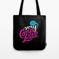 It's Very Complicated Tote Bag