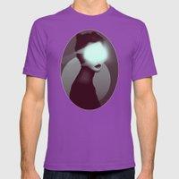 Bastet/Cat Goddess (Color Variant Version) Mens Fitted Tee Ultraviolet SMALL