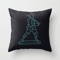 The Gurkhas Throw Pillow