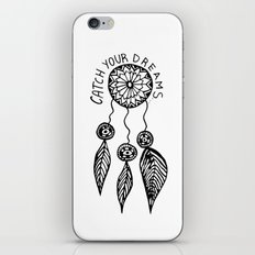 Catch your dreams  iPhone & iPod Skin