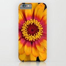 Orange Flower Slim Case iPhone 6s