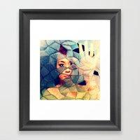 Defragging Framed Art Print