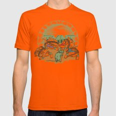 Turtles Mens Fitted Tee Orange SMALL