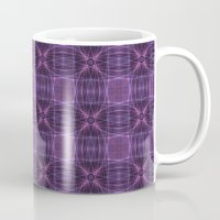 Dark Purple Quilt Patter… Mug