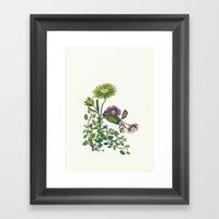 Flor 4 Framed Art Print