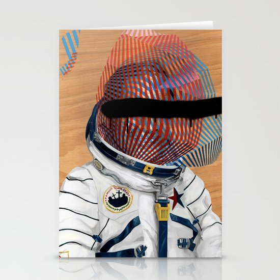 Spaceman No:2 Stationery Card