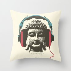 Enjoy Music Throw Pillow