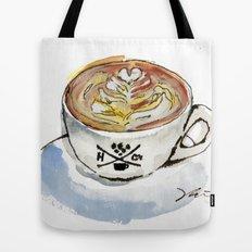 Latte Tote Bag