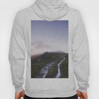 Mountain Path And Fence … Hoody