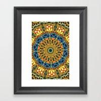 Royal Sun Framed Art Print