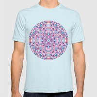Loom Mens Fitted Tee Light Blue SMALL