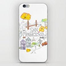 Friends + Neighbors : San Francisco iPhone & iPod Skin