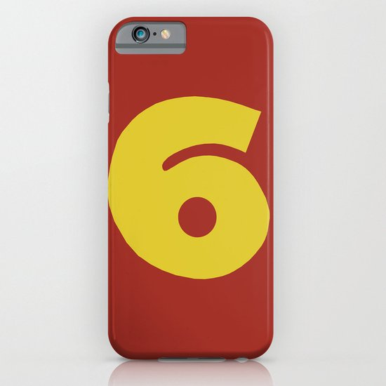 Number 6 iPhone & iPod Case