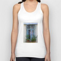 Blue Window  Unisex Tank Top