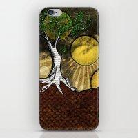 Sunrise Tree iPhone & iPod Skin