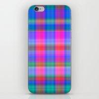 Misty Plaid  iPhone & iPod Skin
