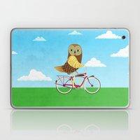 Owl Bicycle Laptop & iPad Skin