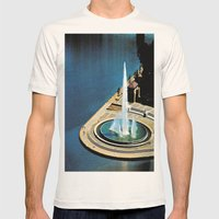 The Fountain at The Point Mens Fitted Tee Natural SMALL