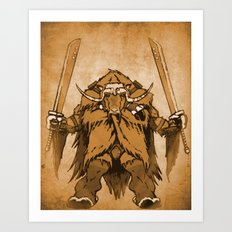 The Ox Art Print