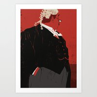 Rumpole Art Print