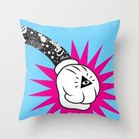 Mick 'The Terrible' Throw Pillow