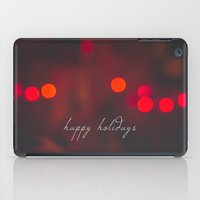Happy Holidays iPad Case